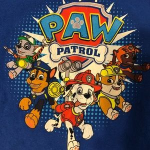 2T Paw Patrol blue tee & gray pull on shorts Offer